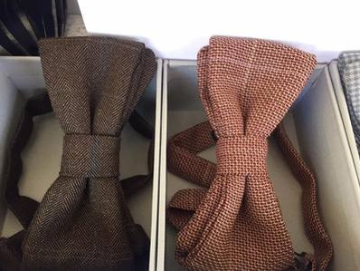 Wolle Fliegen. Wool Bowtie. Geschenke Idee. Heng Fashion. Made in Berlin.