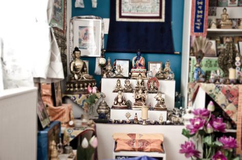 Buddishmus Meditation Gompa
