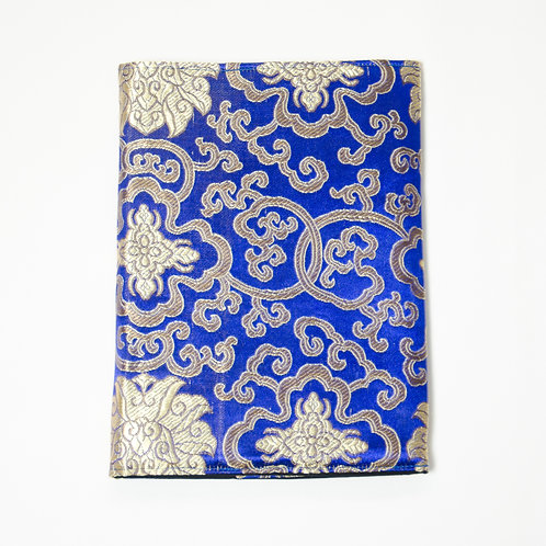 Notizbuch-Blau