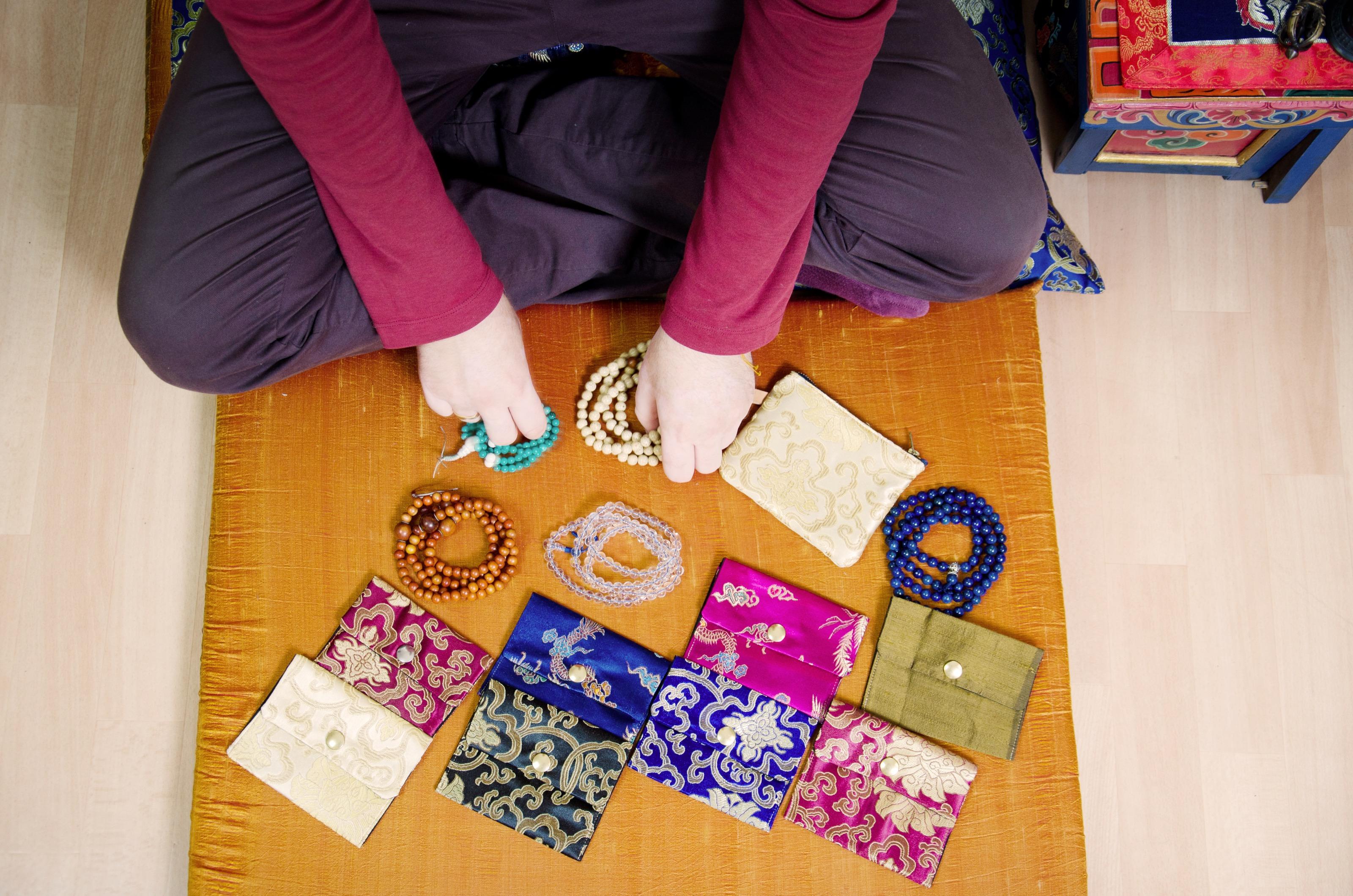 Mala und die Taschen