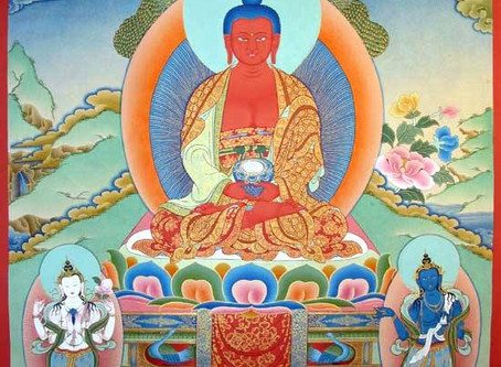 Buddha Amitabha Tag