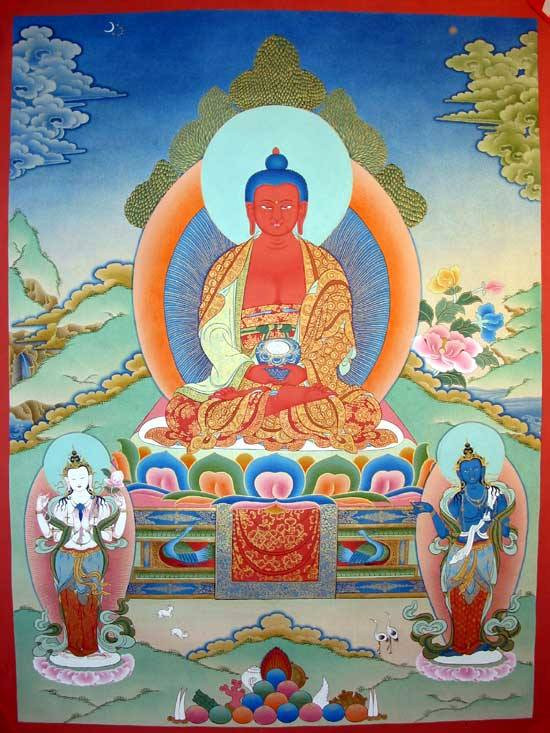 Amitabha Tag. Tibetische Kalender