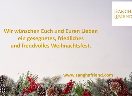 Wir wünschen Euch schöne und freudvolle Weihnachtstage.