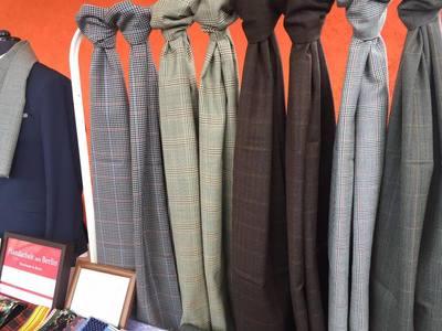 Herren Wolle Schal. Men Scarves. Heng Fashion. Made in Berlin.