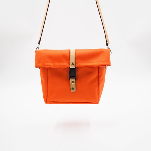 Mini Wasserabweisende Umhängetasche/Schultertasche ca.23x21x7cm.Orange
