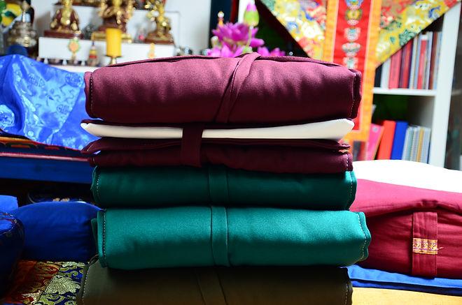Verbeugungsmatte für Meditation Praxis der Tibetische Buddhismuss.