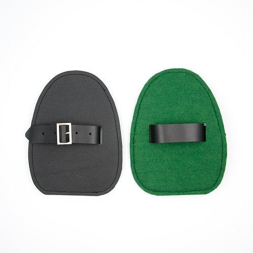 Slider für Verbeugungen-Schwarz Grün