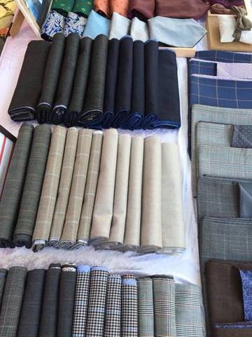 Herren Wolle Schal von Heng Fashion.
