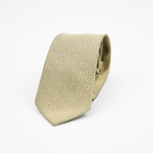 Krawatten aus Seide für Herren.Handgefertigte. Beige. Ca. 6x145cm.