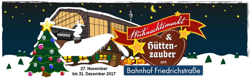 WEIHNACHTSMARKT AM BAHNHOF FRIEDRICHSTRASS - Heng Fashion.