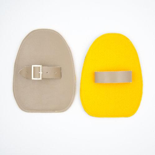 Slider für Verbeugungen-Gelb