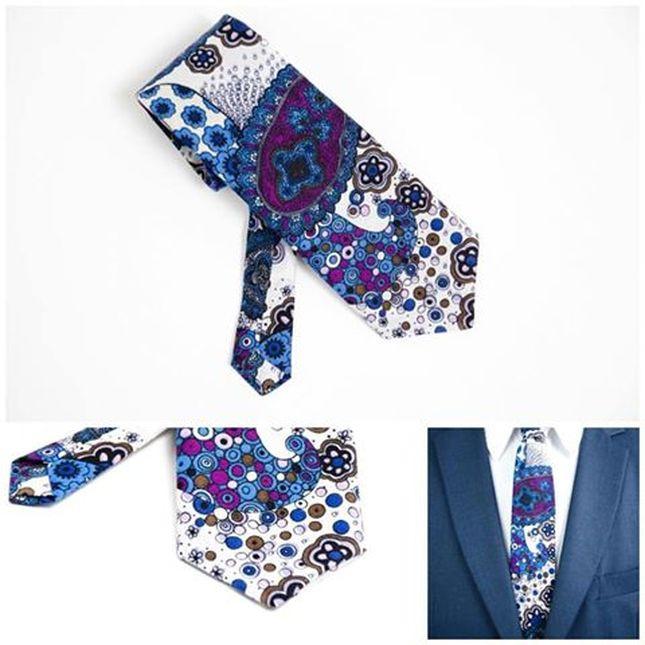 Herren Krawatten aus Baumwolle für modernen Look. Heng Fashion. Herren Accessoires aus Berlin.