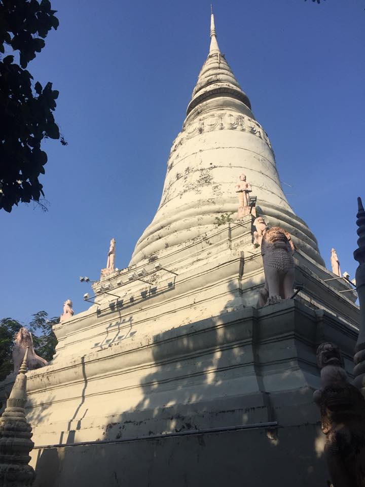 Stupa_Oudong Kambodscha