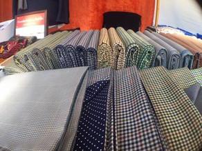 Herren Wolle Schal von Heng Fashion. Made in Berlin.