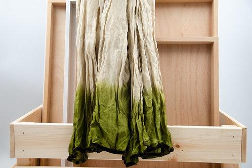Tie dye Seidenschal. Schal für Frauen. Seidenschal für Frauen.
