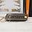 Thumbnail: Personalisierter Schlüssel-Organizer mit Monogramm aus Leder ca. 10x3cm.
