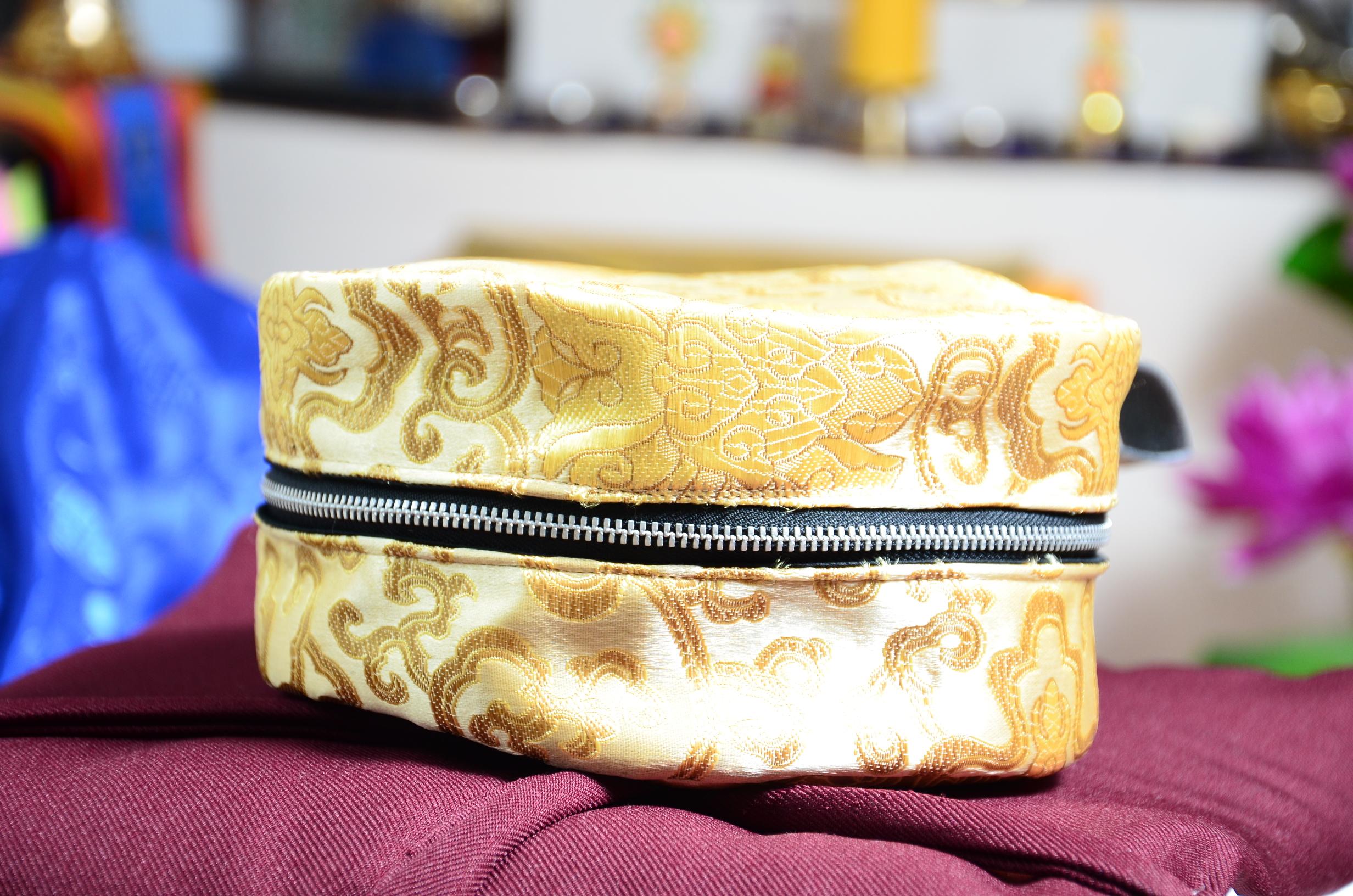 Mandalatasche aus Tibetische Brokat