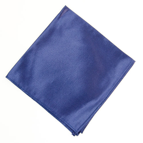 Pocket square made of cotton blend cir. 28x28cm. Handmade in Berlin. Blue