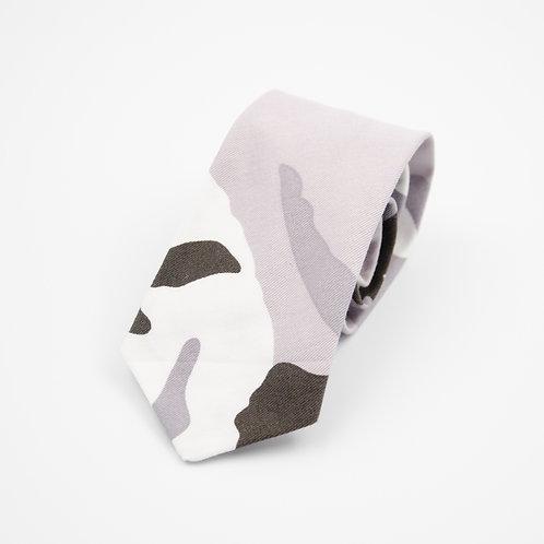Krawatten für Herren aus Baumwolle.Handgefertigte. Camouflage.Schokolade