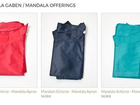 Mandalaschürzen für Mandala Gaben