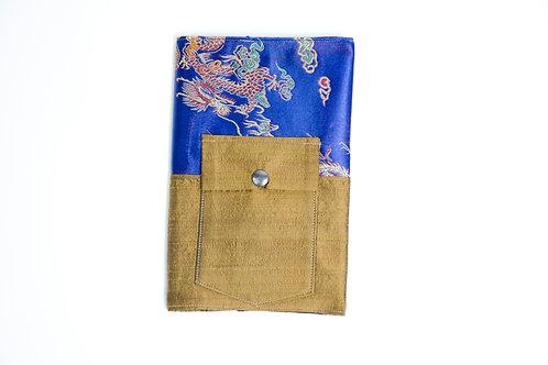 Notizbuch- Zwei Farben-Blau