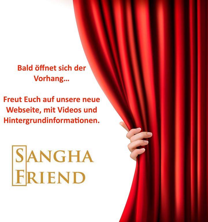 Sangha Friend neue Website eröffnungen. Handarbeit aus Berlin.
