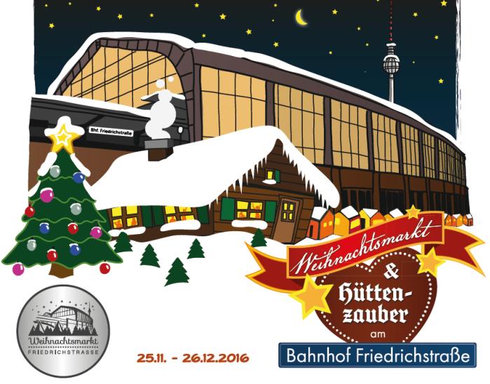 Weihnachtmarkt Termin 2016 am Friedrichstraße Bahnhof. Heng Fashion. Herren Mode aus Berlin.