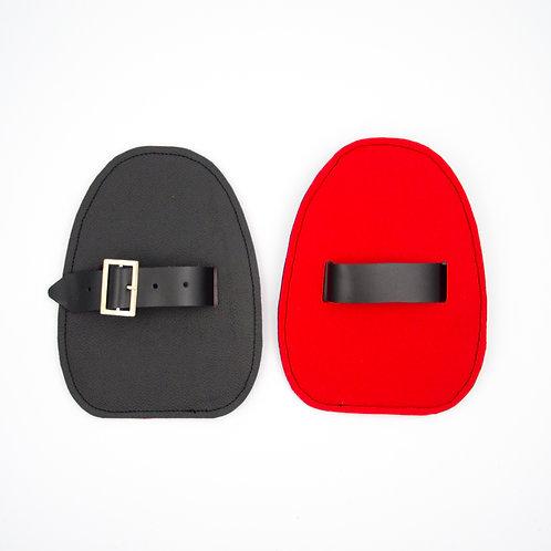 Slider für Verbeugungen-Schwarz Rot