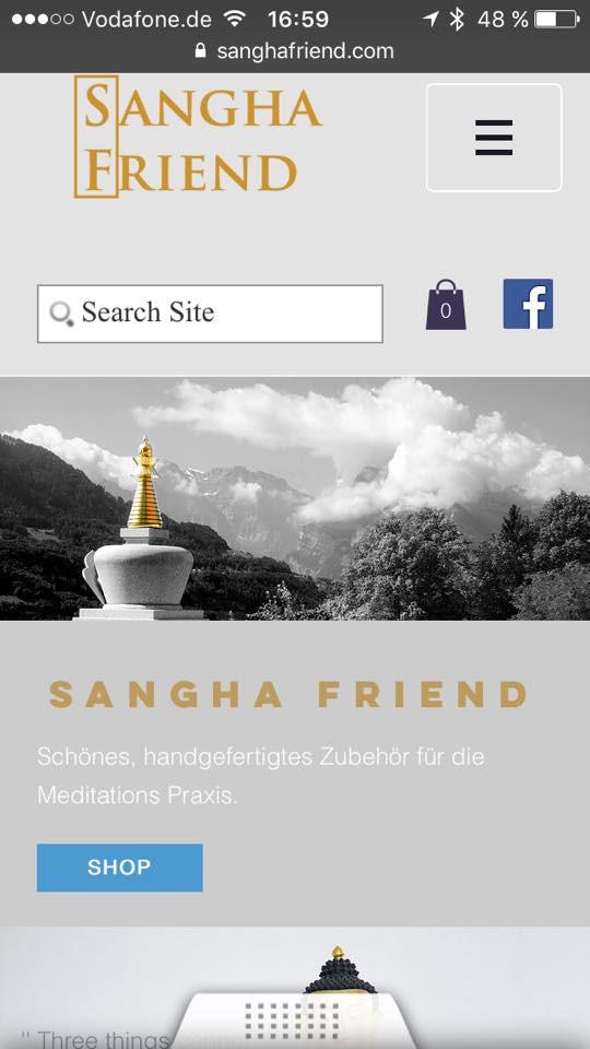 Zahlungsarten bei Sangha Friend
