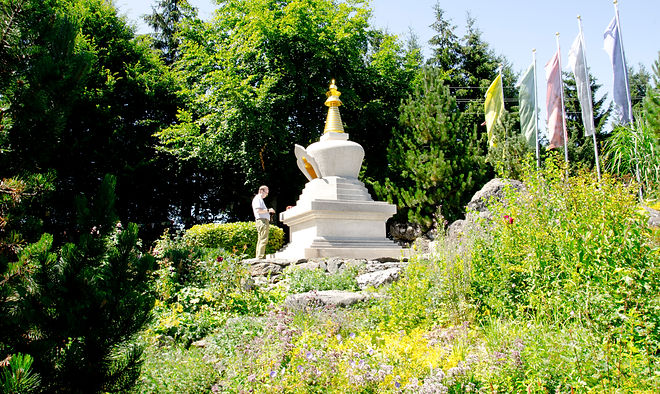 Stupa aus der Tibetische Tradition