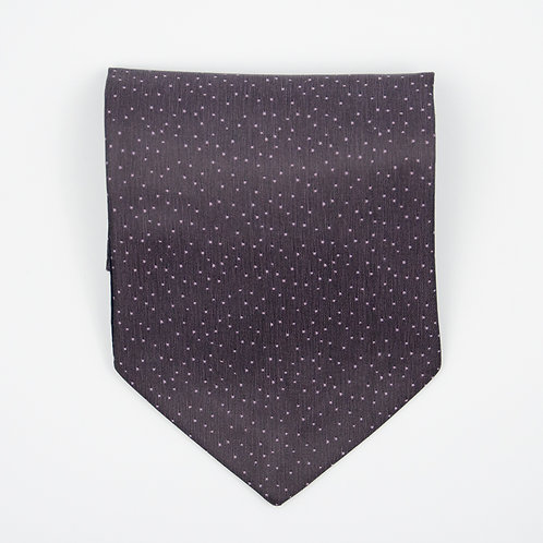 Ascot Tie made of cotton blend cir. 15x100cm. Suitable for tuxedo or shirt. Dot. Violet