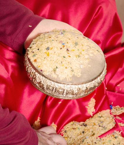 Reis für Mandala Gaben