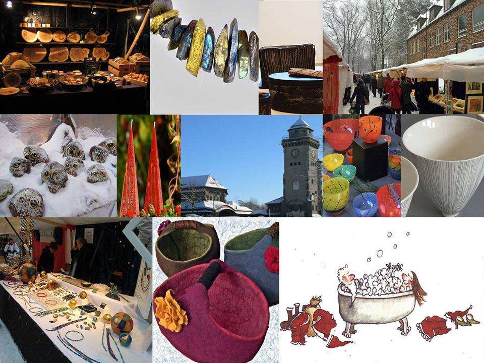 Kunstmarkt und Weihnachtsmarkt am Mexikoplatz. Heng Fashion Teihname