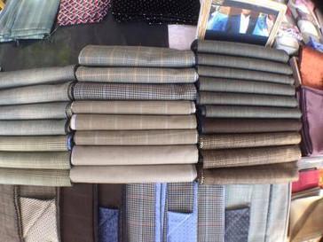 Herren Schal für Anzug. Heng Fashion.