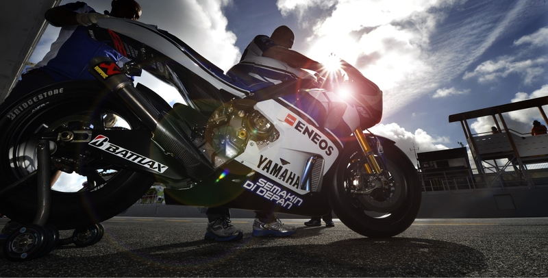 clouds sun yamaha moto gp motorbikes racing jorge lorenzo skyscapes yamaha racing 4928x3032 wallp_ww
