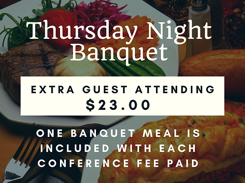 Extra Banquet Guest