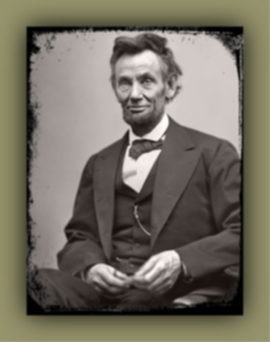 Abraham Lincoln, President of The United State of America during the American Civil War
