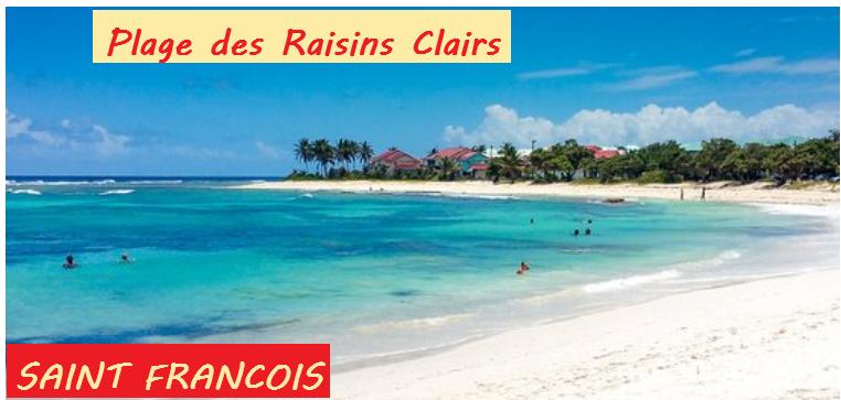 Plage_des_Raisins_Clairs_à_St_François