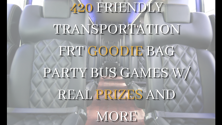 Front Row Travels® Festival Party Bus
