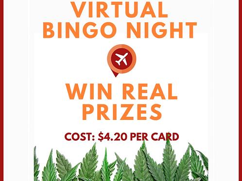 Virtual Bingo Night 12/18/20