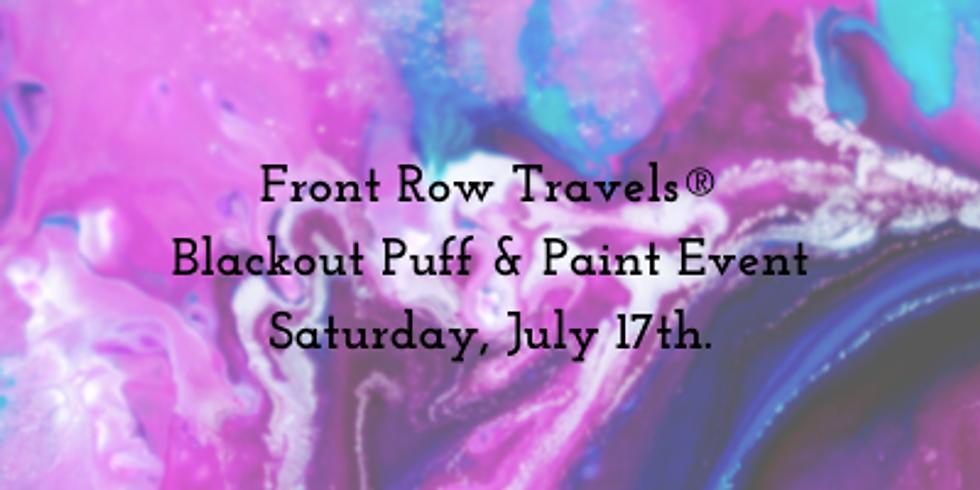 Blackout Puff & Paint Event