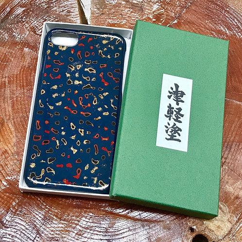 津軽塗iPhone7plus・8plus用ケース