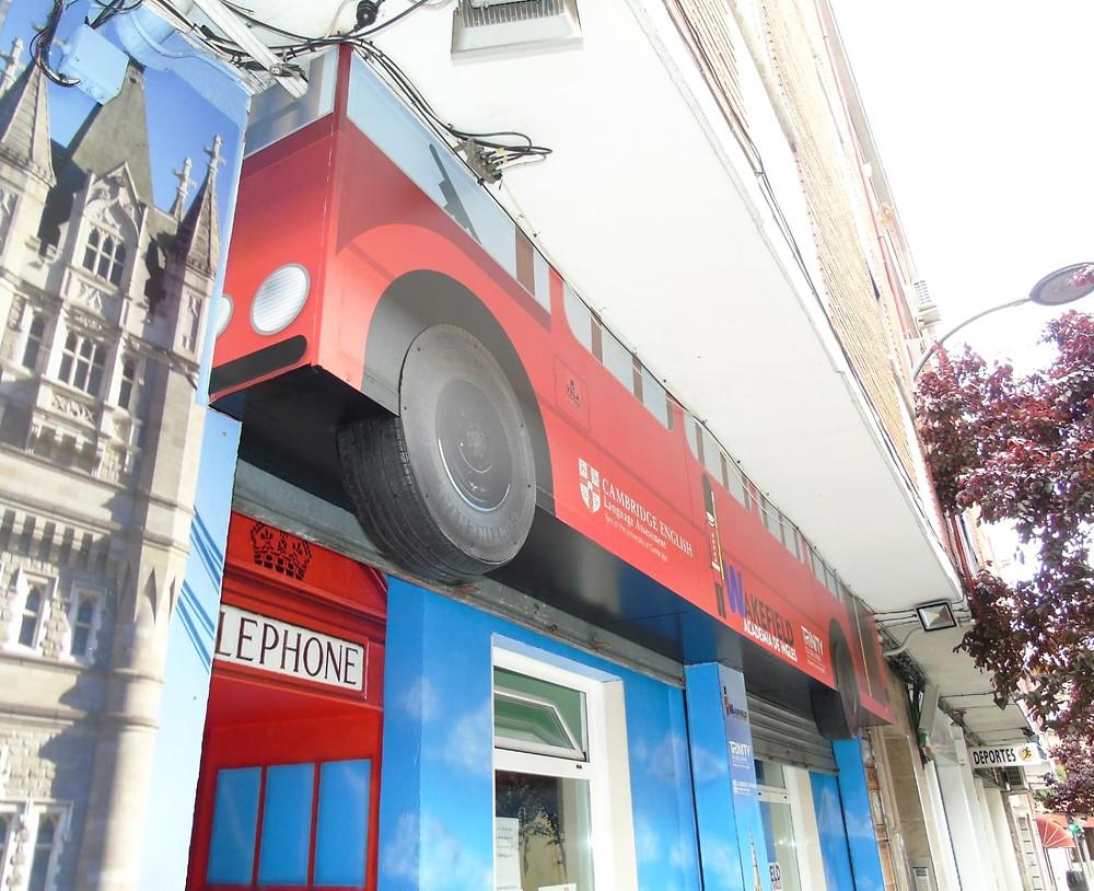 vinilos para negocios Valladolid