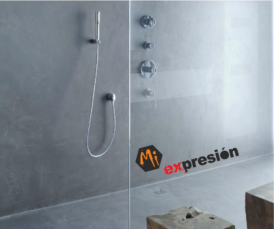 ducha microcemento salamanca