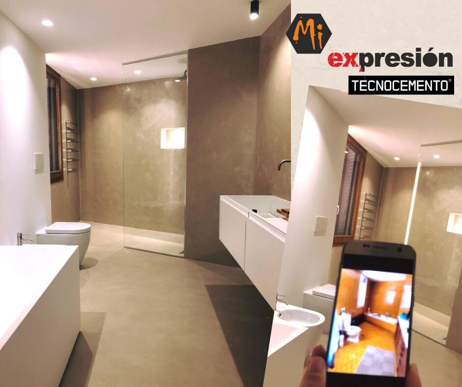 microcemento valladolid baños