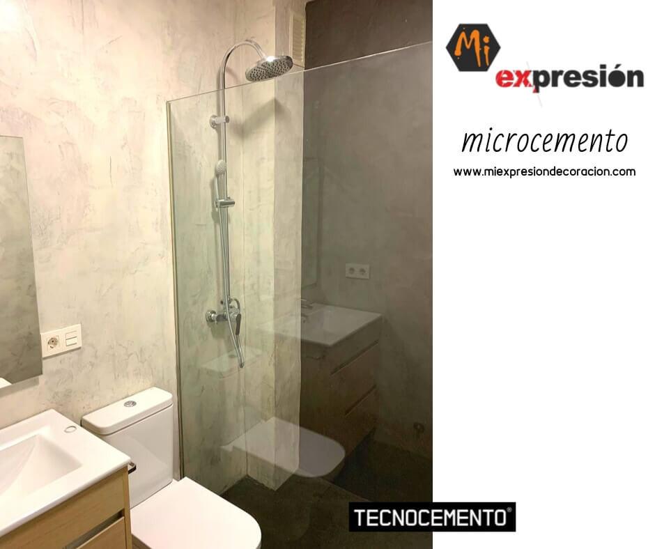 Baño Completo en Microcemento Valladolid