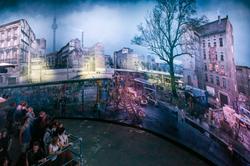 Panorama-Installation DIE MAUER