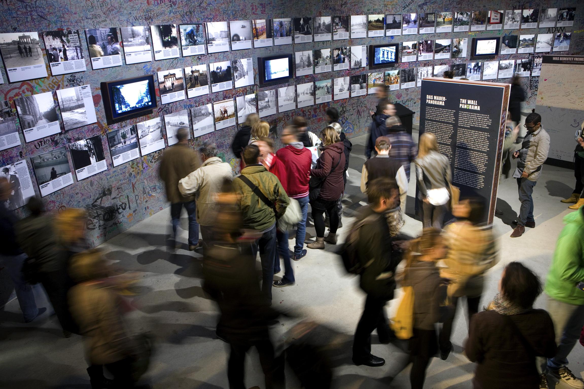 Installationsraum, Foto-Ausstellung