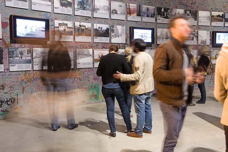 DIE MAUER, Installationsraum, Foto David Oliveira © asisi