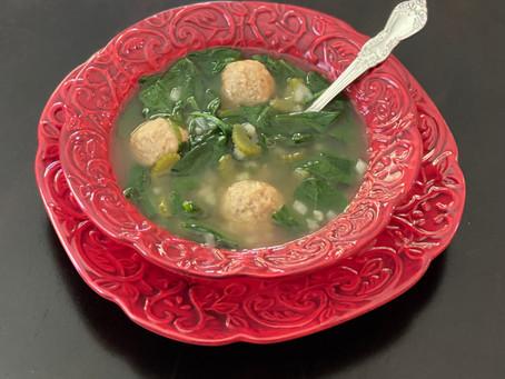 Keto Italian Wedding Soup